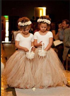 Home » flower girl dresses » 20+ Amazing Flower Girl Dresses » Toddler and Child Full Length Ivory Flower girl dresses