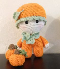 Big Headed Baby Doll, Big Headed Pumpkin Doll, Stuffed Toy, Stuffed Doll…