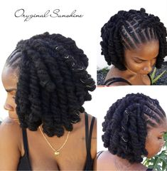 Do you like your wavy hair and do not change it for anything? But it's not always easy to put your curls in value … Need some hairstyle ideas to magnify your wavy hair? Dreads Styles For Women, Curly Hair Styles, Natural Hair Styles, Short Locs Hairstyles, Girl Hairstyles, Black Hairstyles, Wedding Hairstyles, Hairstyles 2016, Beautiful Dreadlocks