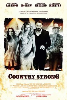 Country Strong 11x17 Movie Poster (2010)