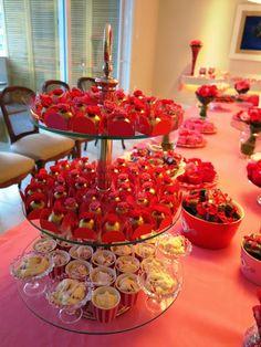 Blog da Andrea Rudge: HAPPY HOUR EM PINK E VERMELHO