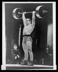 vintage bodybuilding / strongman