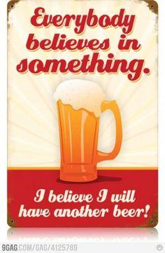 Mmm beer...