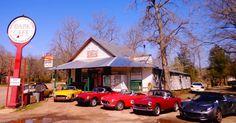 The oldest restaurant in Arkansas~Oark General Store and Cafe in Oark, est. 1890.