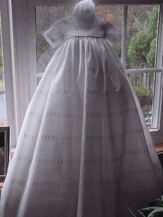 """""""Simplicity"""" Family Christening Gown"""