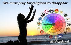 Los fanatismos religiosos nublan la vista al futuro #Religion #Conciencia #Consciencia #politica #Marqueting  #Personal #Libertad