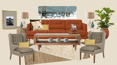 """The """"Peggy-Gomer"""" board Design Boards, Couch, Inspiration, Furniture, Home Decor, Biblical Inspiration, Settee, Decoration Home, Room Decor"""