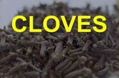 """Cloves are a small dried bud from a tree ins indonedia or Sri Lanka. The term cloves is beleived to come from the French word for nail """"clous""""..."""