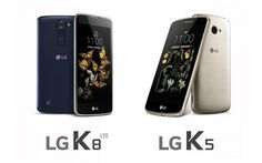 LG K8 and K5 Launched