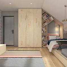 Dom pod Krakowem - przestrzeń zupełna, Projekt wnętrza mieszkalnego WERDHOME - homebook Kids And Parenting, Bunk Beds, Ikea, Entryway, New Homes, House, Inspiration, Furniture, Home Decor