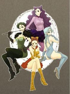 Las cuatro hermanas black moon