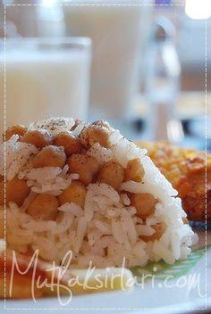 Nohutlu Pilav - Tarifin püf noktaları, binlerce yemek tarifi ve daha fazlası...