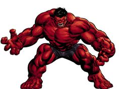How Many Avengers Do You Know?  Red Hulk