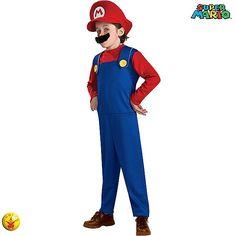 Disfraz de Super Mario #infantiles #disfraces