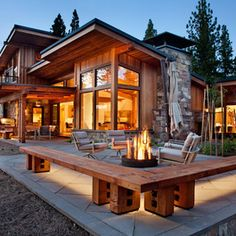 Modern Home rustic modern shed Design Ideas, Pictures, Remodel and Decor