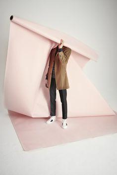 Christian Lacroix alluring FW15 menswear collection shot by Brendan Freeman !