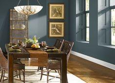 Dining room - dark gray/green/blue? ULTRA PURE WHITE(PPU18-6),UNDERWATER(PPU12-20),
