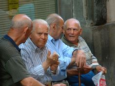 older people of italy