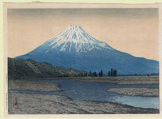Kawase Hasui, Mount Fuji, 1933