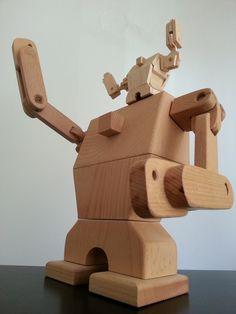 WooRobot by ecolapsis, via Behance