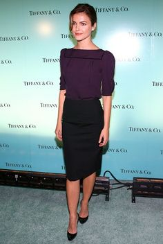 Tiffany & Co. Launches The 2007 Blue Book Collection  In This Photo: Keri Russell