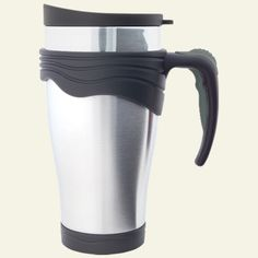 A True Clic The 20 Oz Stainless Steel Thermal Travel Mug Is Designed For Spill