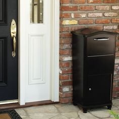 This innovative home parcel drop box collects multiple packages securely inside keeping them safe from weather, thieves, and nosey neighbors.