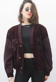 Vintage Velvet Cardigan