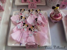 Pencil/Pen Favors Mickey Mouse Clubhouse Party, Minnie Mouse 1st Birthday, Mickey Party, 2 Year Old Birthday Party, Birthday Photos, 17 Birthday, Birthday Ideas, Pink Minnie, Mickey Minnie Mouse