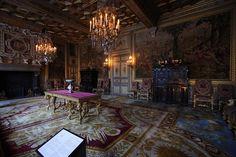 Le salon François Ier au château de Fontainebleau