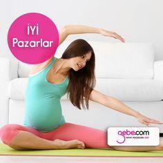Bu pazar kendine ve bebeğine vakit ayırmaya ne dersin?�Şunu bilmende fayda var ki gebelikte yaptığın egzersizler doğumunu kolay bir şekilde gerçekleştirmene de yardımcı olacak.