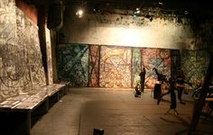 Alex Rodin - 2012 Tacheles exposition, photo Marcel Nakoinz