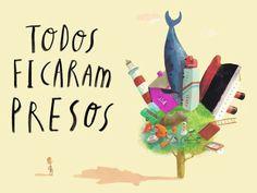 Book trailer PRESOS Oliver Jeffers by Orfeu Negro. Book trailer de Catarina Sobral