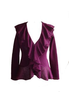 Check out this item in my Etsy shop https://www.etsy.com/uk/listing/274983698/elegant-womens-linen-blazer-purple