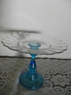 Cake Stand Cupcake Stand Pedestal Cake Stand by GLVintageShop, $20.00