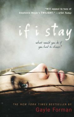 If I Stay by Gayle Forman. Beautiful book. Mia Hall is a wonderful character. The story is told in almost flashback like memories. That is, until she finally makes her choice. To stay, or to go?