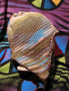 Ear Flap hats machine knitted .... different colours maybe????!