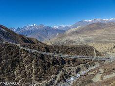 Descente vers Muktinath #annapurnatrek #nepal #grimpisme