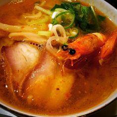 濃厚海老拉麺#shrimpramen#shrimpsoup#shrimp#noodles#chinesecuisine#chinesefood#favoritefood#ramen#delicious#yum#yummy#addictive#海老ラーメン#海老#海老出汁#たっぷり#濃厚#昨夜の#〆#ラーメン#らーめん#拉麺#美味#激ウマ#飯テロ#ラーメンテロ by mixture164