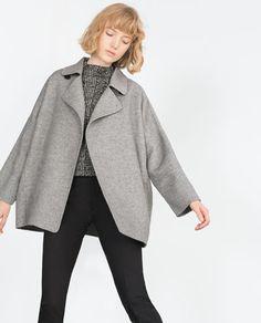 HAND MADE COAT from Zara