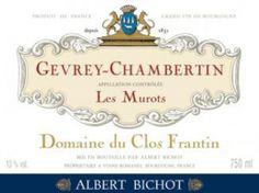 Gevrey-Chambertin Les Murots Domaine du Clos Frantin Albert Bichot