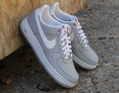 Nike Air Force 1 Low Nylon - Wolf Grey