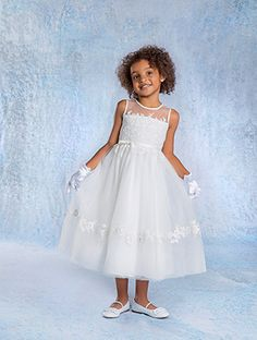 Alfred Angelo Bridal Style 6683 from All Flower Girl Styles