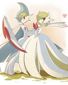 Mega Gardevoir and Mega Gallade Mega Dancing