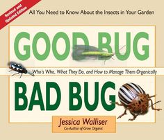 Good Bug Bad Bug: Who's Who, What They Do, and How to Manage Them Organically (All you need to know about the insects in your garden) by Jessica Walliser #Books #Gardening #Insects #Organic_Management