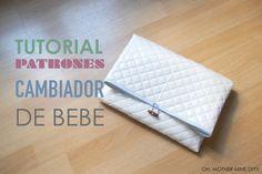 DIY Tutorial arrullo toalla para bebe: Patrón bueno pero sin bolsas