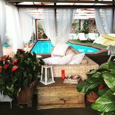 Te gustaría pasar unas vacaciones en un sitio como este? #relax #armonia #belleza #piscinatechadasincloro #jacuzzi...