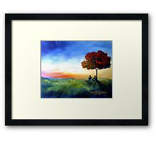 Framed Print of 'Sitting Under a Tree' by Cherie Roe Dirksen. -- perfect for that little zen space you're trying to create! #Zen #homedecor #bedroomdecor #redbubble