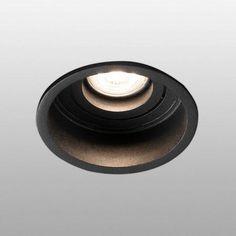 Spot encastré orientable Faro Hyde Noir Métal 40119+43065 - 21956 Spots, Planets, Black People, Plants