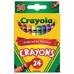 Crayola Crayons - CYO523024 | OfficeSupply.com
